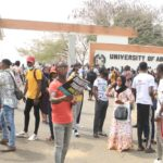Protest: University of Abuja Students Shut Down Senate Building Over Results Delay